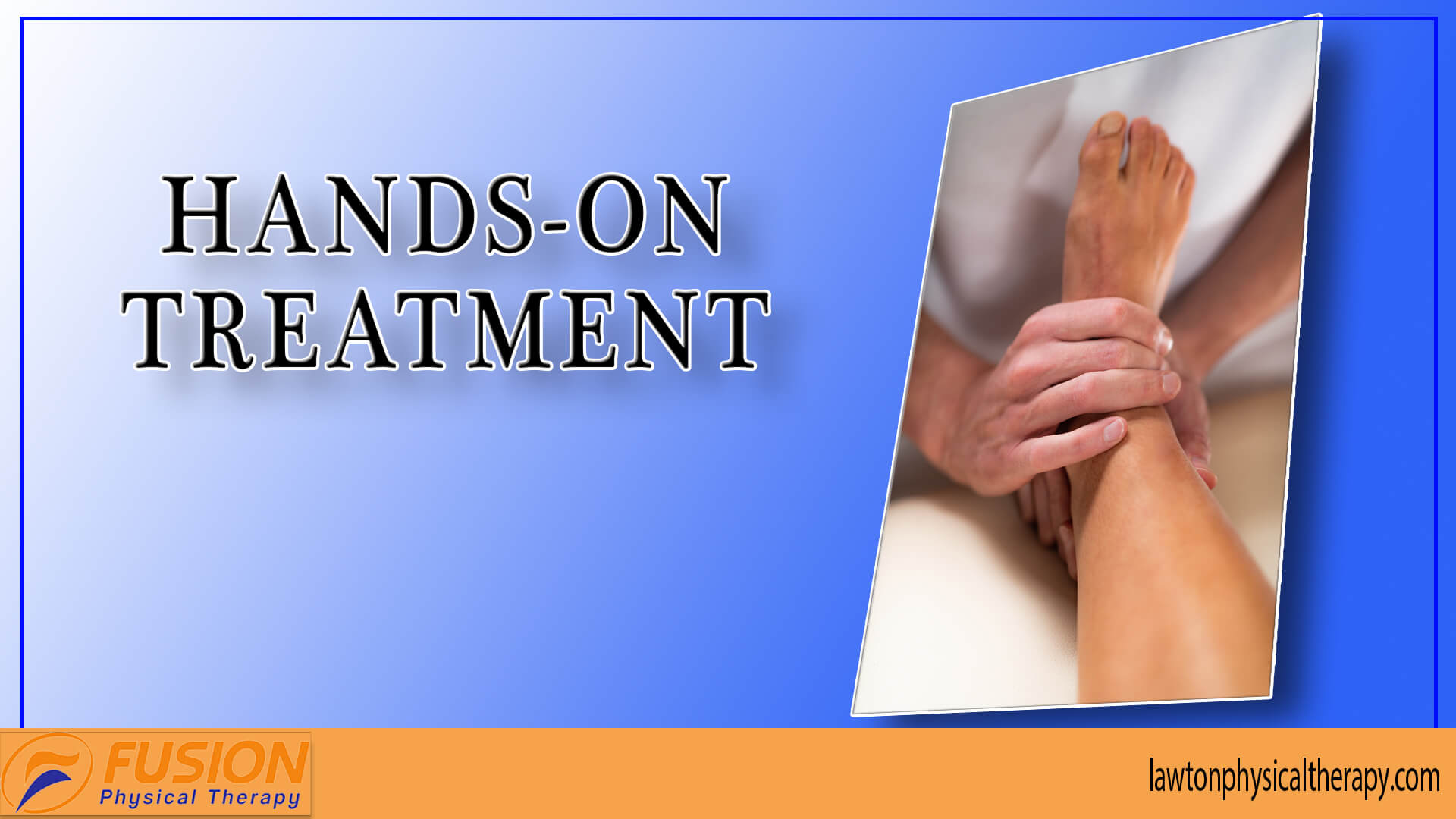 Hands-on treatment